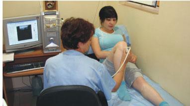 Протокол УЗИ коленного сустава
